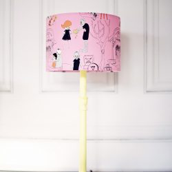 Pink Zombie Lampshade