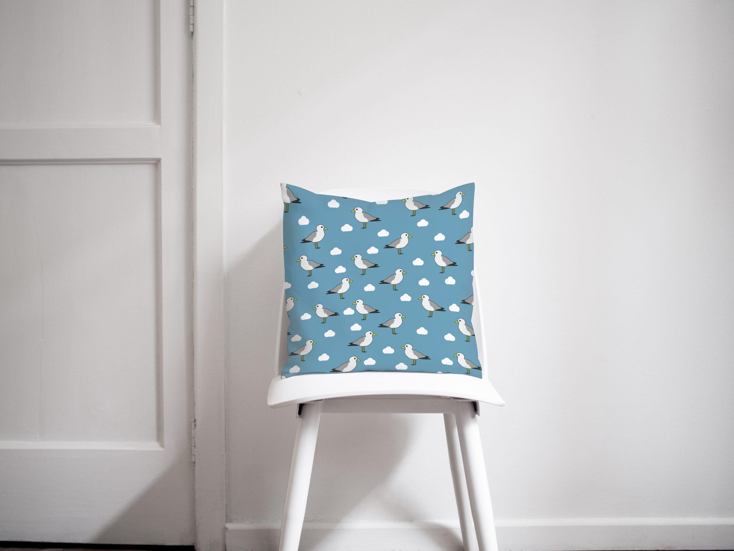 Dark blue Seagull Coasters