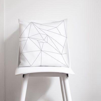 White and Grey Cushion